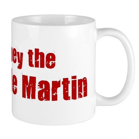 Obey the Purple Martin Mug