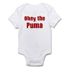 Obey the Puma Infant Bodysuit