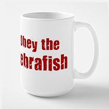 Obey the Zebrafish Mug