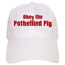 Obey the Potbellied Pig Baseball Cap