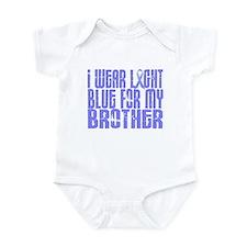 I Wear Light Blue 16 (Brother) Infant Bodysuit