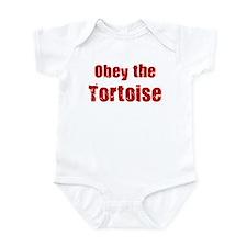 Obey the Tortoise Infant Bodysuit
