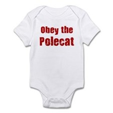 Obey the Polecat Infant Bodysuit