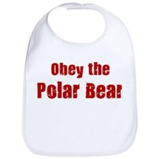 Obey the Polar Bear Bib