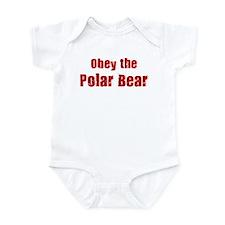 Obey the Polar Bear Infant Bodysuit