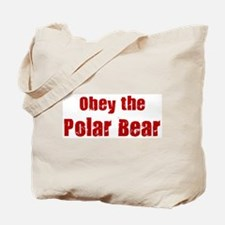 Obey the Polar Bear Tote Bag