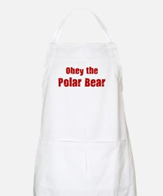Obey the Polar Bear BBQ Apron