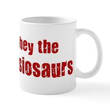 Obey the Plesiosaurs Mug