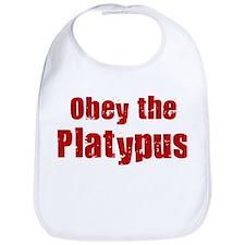 Obey the Platypus Bib