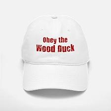 Obey the Wood Duck Baseball Baseball Cap