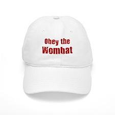 Obey the Wombat Baseball Cap
