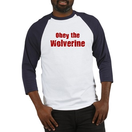 Obey the Wolverine Baseball Jersey