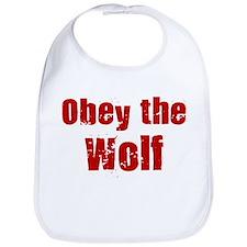 Obey the Wolf Bib