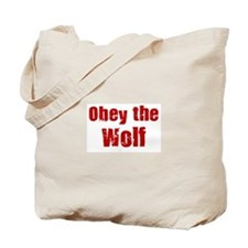Obey the Wolf Tote Bag