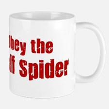 Obey the Wolf Spider Mug