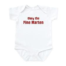 Obey the Pine Marten Infant Bodysuit