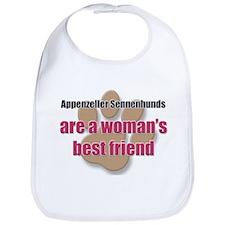 Appenzeller Sennenhunds woman's best friend Bib
