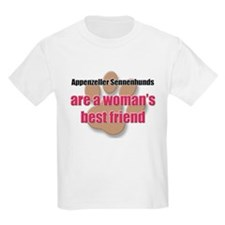 Appenzeller Sennenhunds woman's best friend T-Shirt