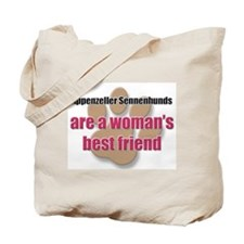 Appenzeller Sennenhunds woman's best friend Tote B