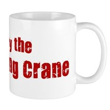 Obey the Whooping Crane Mug