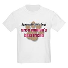 Appenzell Cattle Dogs woman's best friend T-Shirt