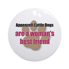 Appenzell Cattle Dogs woman's best friend Ornament