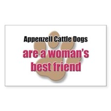 Appenzell Cattle Dogs woman's best friend Decal