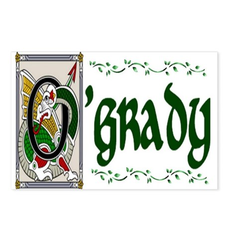 O'Grady Celtic Dragon Postcards (Package of 8)