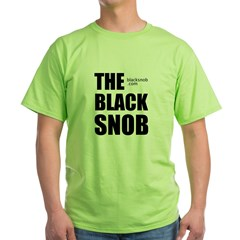 The Black Snob Green T-Shirt