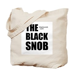 The Black Snob tote