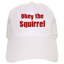 Obey the Squirrel Baseball Cap