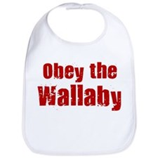 Obey the Wallaby Bib