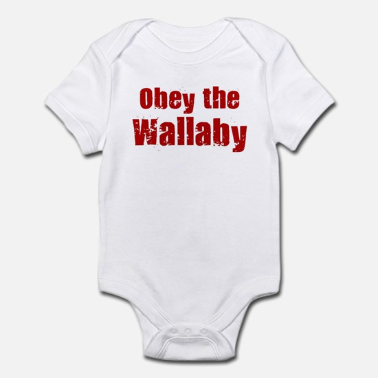 Obey the Wallaby Infant Bodysuit