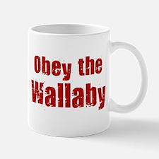 Obey the Wallaby Mug