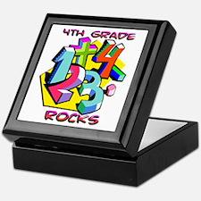 Numbers 4th Grade Keepsake Box