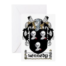 Kennedy Coat of Arms Note Cards (Pk of 10)