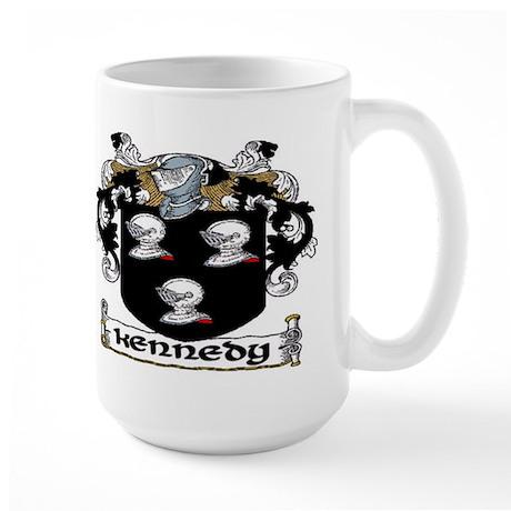 Kennedy Coat of Arms Large Mug