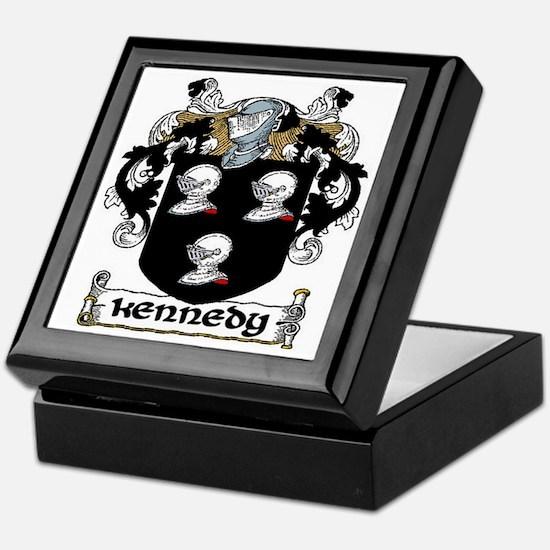 Kennedy Coat of Arms Keepsake Box