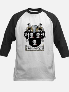 Kennedy Coat of Arms Kids Baseball Jersey
