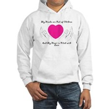 Hands Full, Heart Filled Hoodie