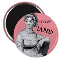 I Love Jane Magnet