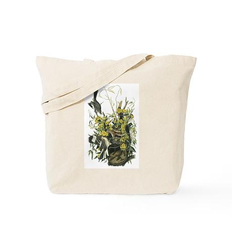 Northern Mockingbird drawing Tote Bag