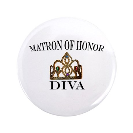 Matron of Honor DIVA Button
