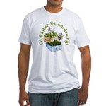 I'd Rather Be Gardening Fitted T-Shirt