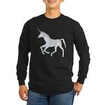 Unicorn Long Sleeve Dark T-Shirt