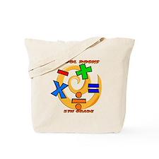 Math Symbols 5th Grade Tote Bag