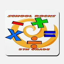 Math Symbols 5th Grade Mousepad