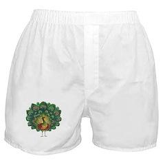 Peacock Boxer Shorts