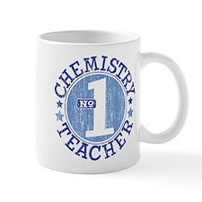 #1 CHEMISTRY TEACHER (Blue) Mug