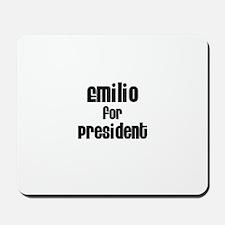 Emilio for President Mousepad